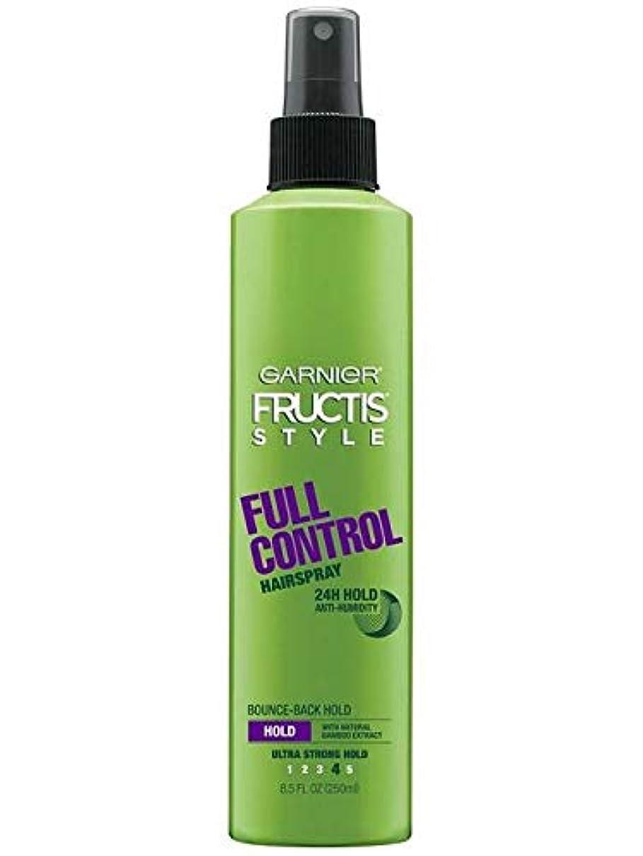 競争力のある狭い評決Garnier Fructis Style Full Control Non Aero Hairspray 250 ml (並行輸入品)