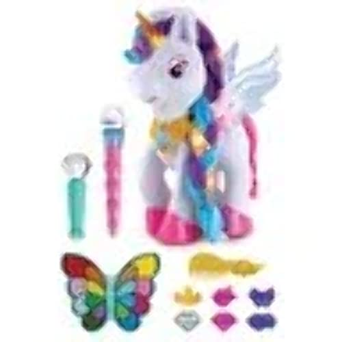 VTech 182503 Myla The Magical Make-Up Unicorn Toy with Microphone for Kids