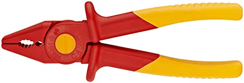 KNIPEX Alicate de presión de plástico aislante aislado 1000V (180 mm) 98 62 01