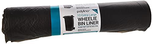 Polylina 680010 Lot de 10sacs poubelle pour bac.