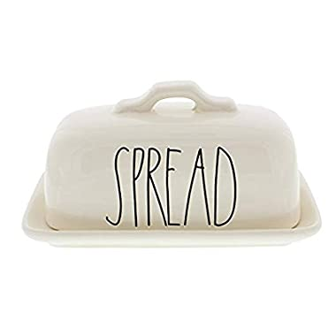 Rae Dunn Spread Butter Dish by Magenta