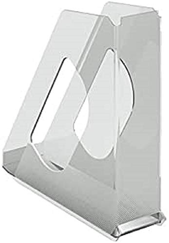Esselte Europost 21433 - Revistero transparente, 72mm de lomo, A4, Color cristal ✅