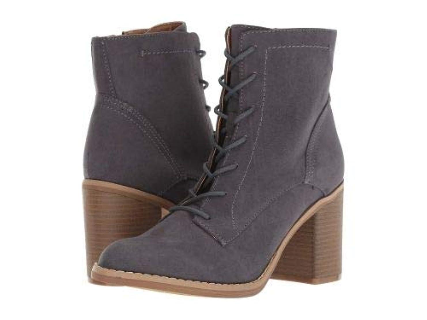 関連付ける変化伝導Indigo Rd.(インディゴRd) レディース 女性用 シューズ 靴 ブーツ レースアップブーツ Fabre - Dark Grey [並行輸入品]