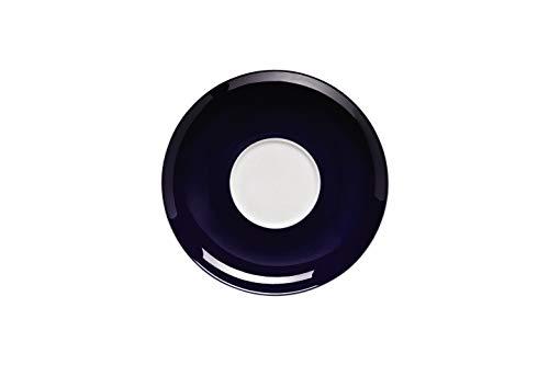 Thomas Sunny Day Untertasse für Cappuccinotasse, Porzellan, Cobalt Blue / Blau, Spülmaschinenfest, 16.5 cm, 14671