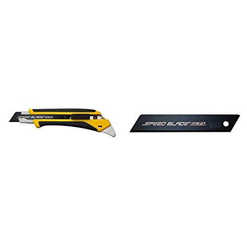 オルファ(OLFA) スピードハイパーAL型 227B & カッター替刃 スピードブレード(大) 5枚入 LBSP5K【セット買い】