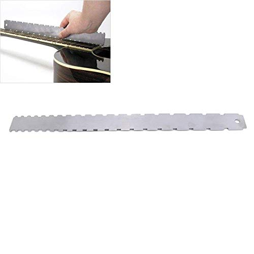 Generic Guitar Neck Notched Straight Edge Luthiers Tool For Most Electric Guitars Frets (437258)