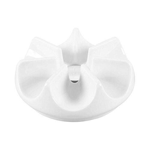 Arzberg Cucina-Basic ROK Weiss Stövchen, Porzellan, White, 16.7 x 16.7 x 6.5 cm