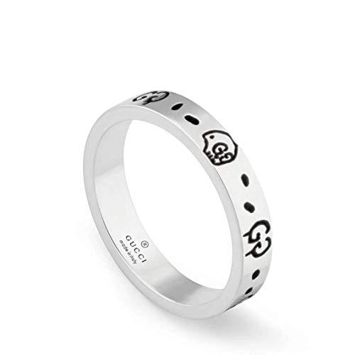 GUCCI GHOST silber ringe Größe 60 YBC477339001020