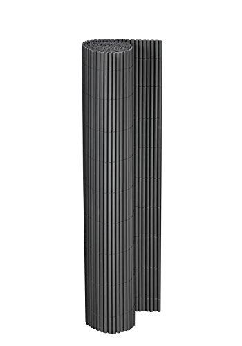 Floraworld 012091 Sichtschutz/Balkonverkleidung Comfort, Anthrazit, 300 x 1 x 90 cm