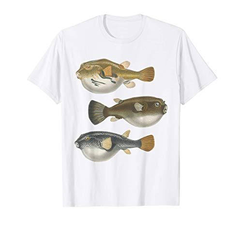 Kugelfisch Arten Meer Meerwasser Salzwasser Riff Aquarium T-Shirt