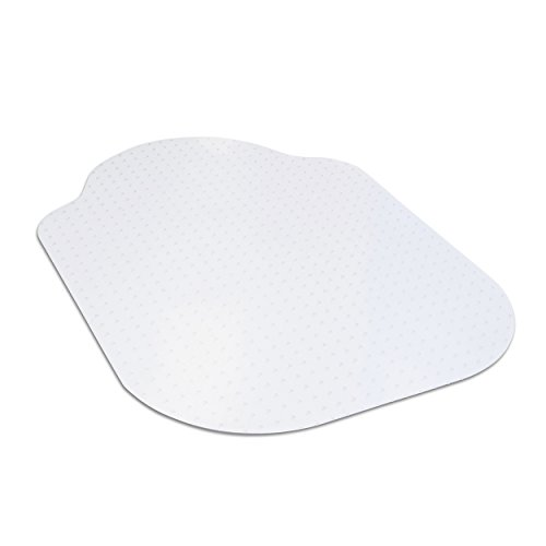 "Evolve 33"" x 44"" Clear Office Chair Mat with Rounded Corners for Medium Pile Carpets, Made in The USA, C5B5003J"