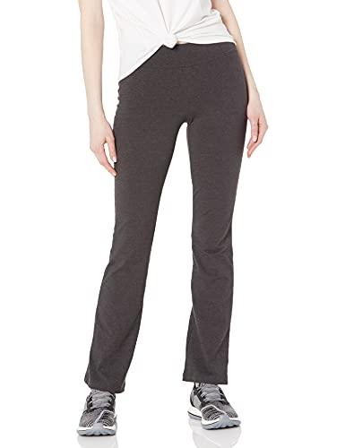 Spalding Women's Slim Fit Pant, Charcoal Heather, Medium
