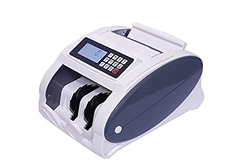Smars® UV/MG-2108 Multi-Currency Bill Counter Money Counting Machine for Bank Note Counting Indian Rupee USD Euro