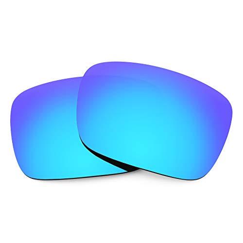 Revant Lentes de Repuesto Compatibles con Gafas de Sol VonZipper Elmore, Polarizados, Azul Hielo MirrorShield
