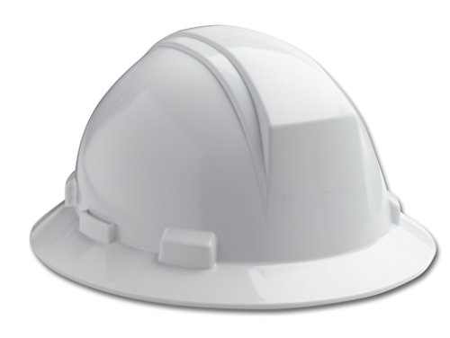 Dynamic Safety HP642R/01 Kilimanjaro Hard Hat with 4-Point Nylon Suspension and Sure-Lock Ratchet...