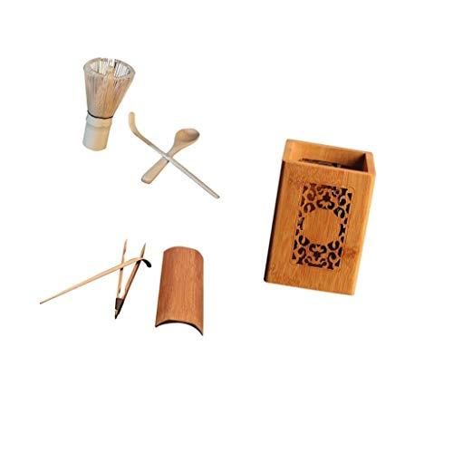 Backbayia Tee-Zeremonie, Kung Fu mit Matcha-Schneebesen Chasen und Scoop Teeschaufel