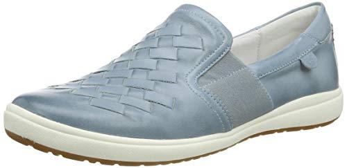 Josef Seibel Damen Caren 26 Slip On Sneaker, Blau (Hellblau 133 520), 38 EU