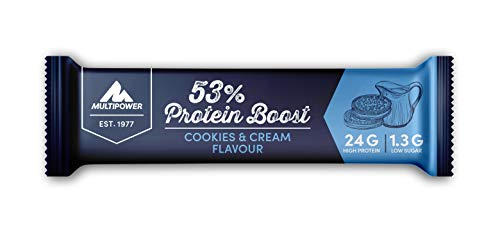 Multipower 53% Protein Boost Cookies & Cream 20X45G - 500 Gr