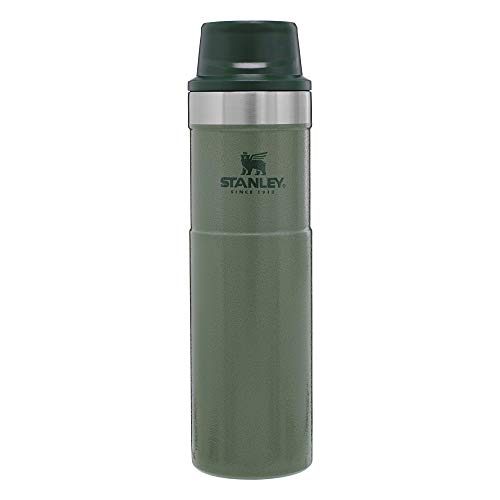 Stanley Classic Trigger Action Travel Mug 20 oz –Leak Proof + Packable Hot & Cold Thermos – Double Wall Vacuum Insulated Tumbler for Coffee, Tea & Drinks – BPA Free Stainless-Steel Travel Cup