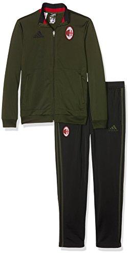 adidas ACM PES Suit Y – Trainingsanzug – AC Milan für Jungen, Jungen, AO0361_176, Verde/Negro/Rojo, 15-16 años