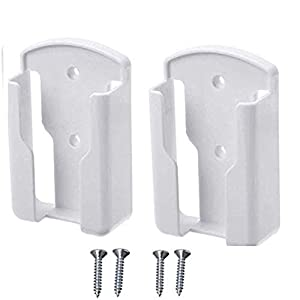 Soporte de pared para mando a distancia de televisión o aire acondicionado, 2 unidades