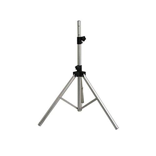 hd-line Grau ALU Dreibein-Stativ für Sat-Spiegel, ideal für Camping und Balkon