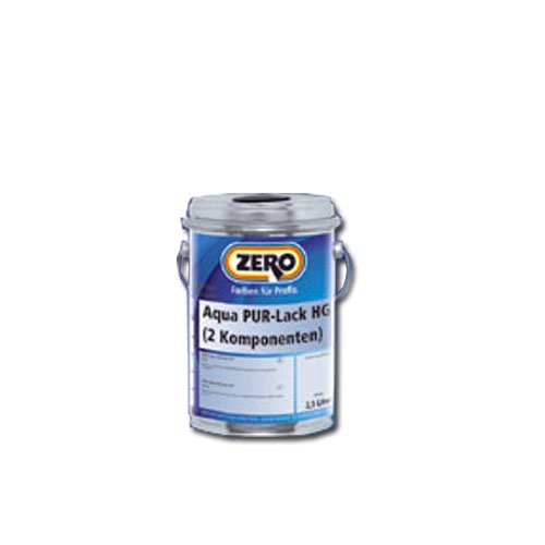 Preisvergleich Produktbild Zero Aqua PUR Lack Seidenglanz 750 ml weiß