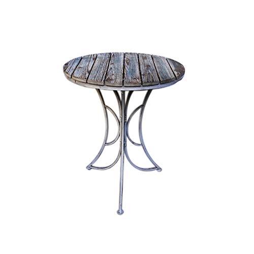 ZXL tuintafel en stoel met drievoudige mouwen van The Tiantai balkon bar Caféteria tuin inklapbaar voor buiten   1 tafel en 2 meubelstoelen (afmetingen: één tafel + twee krukken)