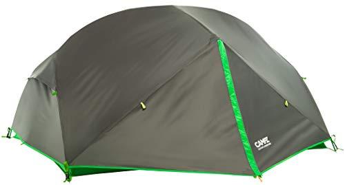 CAMPZ Lacanau 2P Zelt dunkelgrau/grün 2021 Camping-Zelt