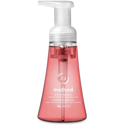 Method Foaming Hand Soap, Pink Grapefruit, 10 Fl Oz (Pack of 6)