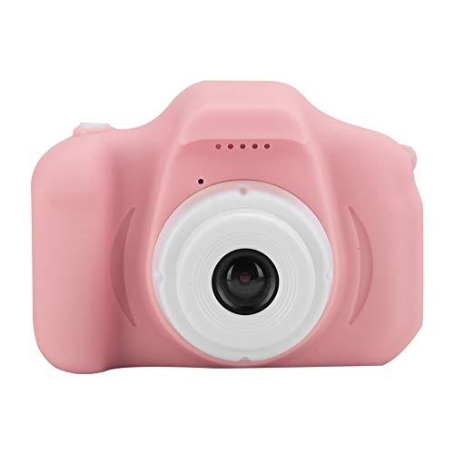 Mini Toy Kinder Kamera,HD 1080P 2.0in Spaß Interesse Cartoon LernenDigital Kids Video Camcorder,Foto/Aufnahme/DIY, Unterstützung 32G Speicherkarte,Geburtstagsgeschenke für Girls Boys Freunde(Rosa)