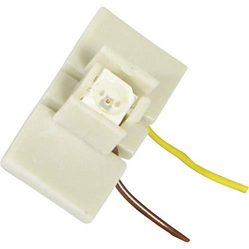 Viessmann 6048 - LED für Etageninnenbeleuchtung, 10 Stück, weiß