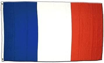 BESTOYARD 20pcs France Drapeaux tenus dans la Main Mini Drapeau National fran/çais de la Nation Nationale 14x21cm b/âton Blanc Boule dor