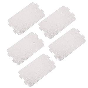 FTVOGUE Remplacement de Feuille de Plaque de mica de Four à Micro-Ondes 5PC réparant l'accessoire 4,6 x 2,5 Pouces