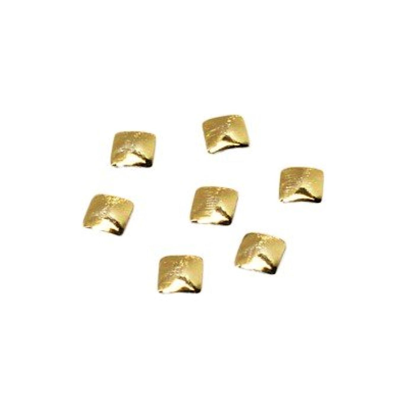 収束チューインガムテキストクレア スクエアスタッズ SS GOL ゴールド 0.36g