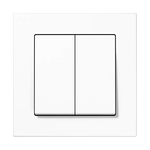 Jung Friends Of Hue Smart Switch FOHSA550595WW: Licht-Schalter und Dimmer - kein Kabel, keine Batterien notwendig – kompatibel mit Philips Hue - Serie A Alpinweiß