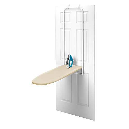 HOMZ Over-the-Door Steel Top Ironing Board
