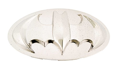 Batman Silver Chrome Belt Buckle