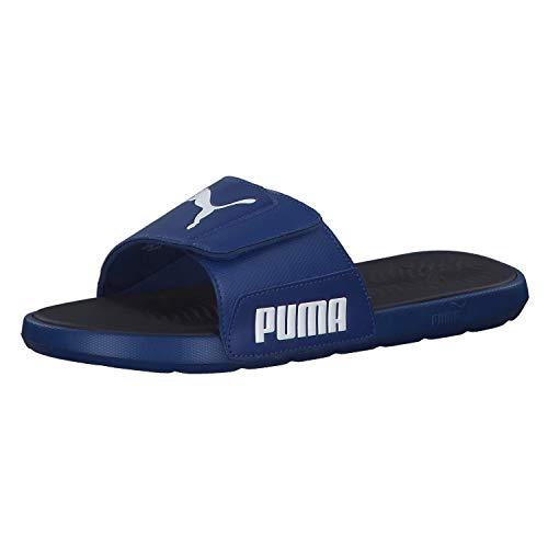 Puma Herren Badeschlappen Starcat Tech 372024 Galaxy Blue/Puma White 39