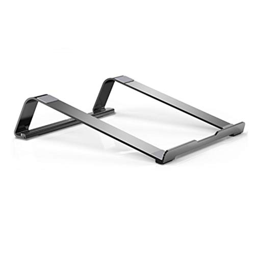 KJGHJ Soporte para Computadora Portátil De Diseño Simple Holder De Tableta De Aluminio Universal 11-17'Portátil Plegable Portátil Portátil Portátil (Color : 15 17 Silver)