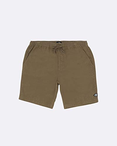 BILLABONG Shorts Larry Layback Cord Dark Khaki L