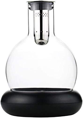 Decantador de Vino Cristal Botella De Vino De Cristal - Tapón Geométrico Hermético - Decantador De Whisky para Vino, Borbón, Brandy, Licor, Jugo, Agua Decantador de Vino Tinto