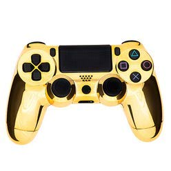 Chrome Gold Modded Controller for Playstation 4. 35 mods for Major Shooter games: Quick Scope, Drop Shot, Auto Run, Sniped Breath, Mimic, More