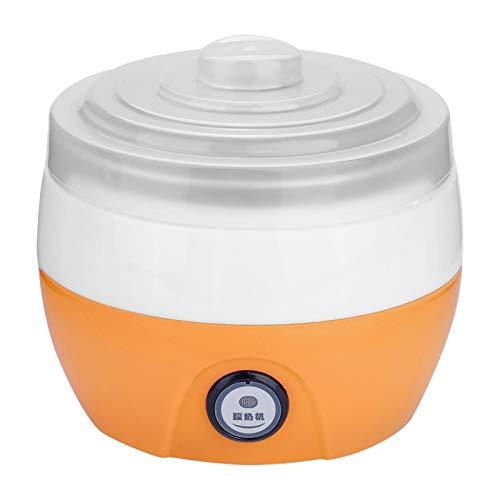 Zhat Macchina per Gelato Yogurt Maker elettrica, per la casa(Orange)