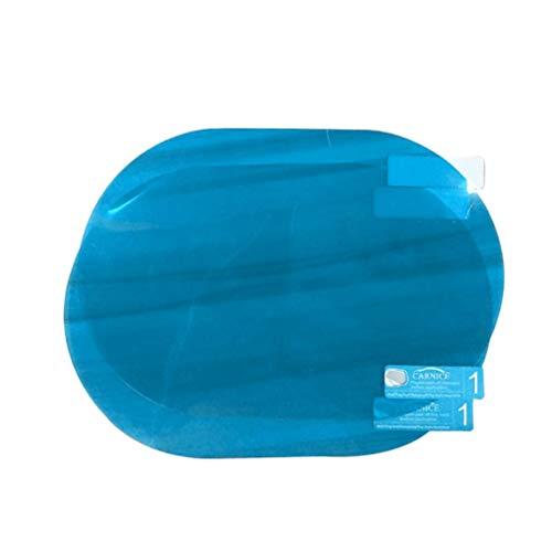 Wakauto 1 par de Auto Espejo Pantalla Lateral Espejo Espejo de Coche Pegatinas Impermeable Espejo Retrovisor Lluvia Protector de Pantalla Espejo Exterior Cubierta para Moto Vehículo