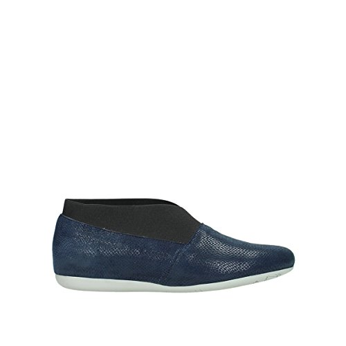 Wolky Comfort Ballerinas Miami - 20800 blau Leder - 37