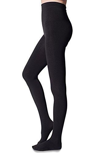 YIWEI Women's Fleece Lined Warm Tights Opaque Pantyhose Winter Sweater Hosiery