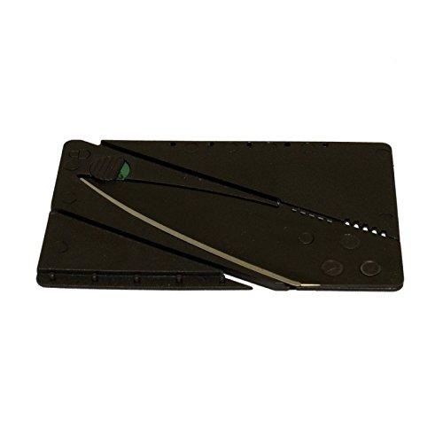 G8DS® Mission Knife Creditcard-Knife Kreditkarten-Messer passend für Geldbörse und Portemonnaie (Credit Karten Messer)