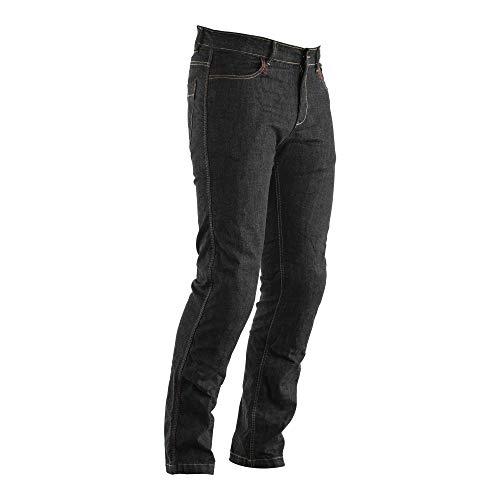 Straight Leg CE Mens Textile Jean (Black - 40)