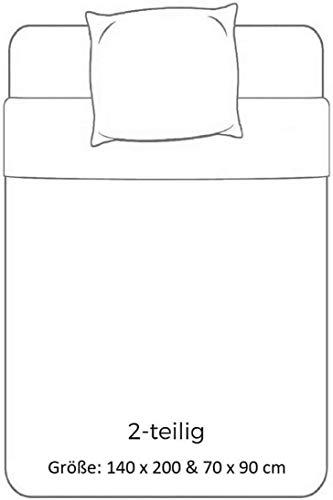 Le Roi Lion Bettwäsche-Set mit Bettbezug